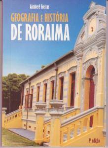 Capa do livro Geografia e História de Roraima - Aimberê Freitas
